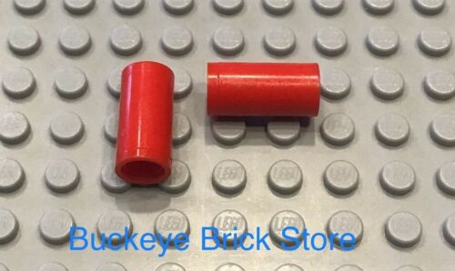 LEGO Technic Pin Connector Smooth Round 2L Pin Joiner Pair Red 7317 10024 10178