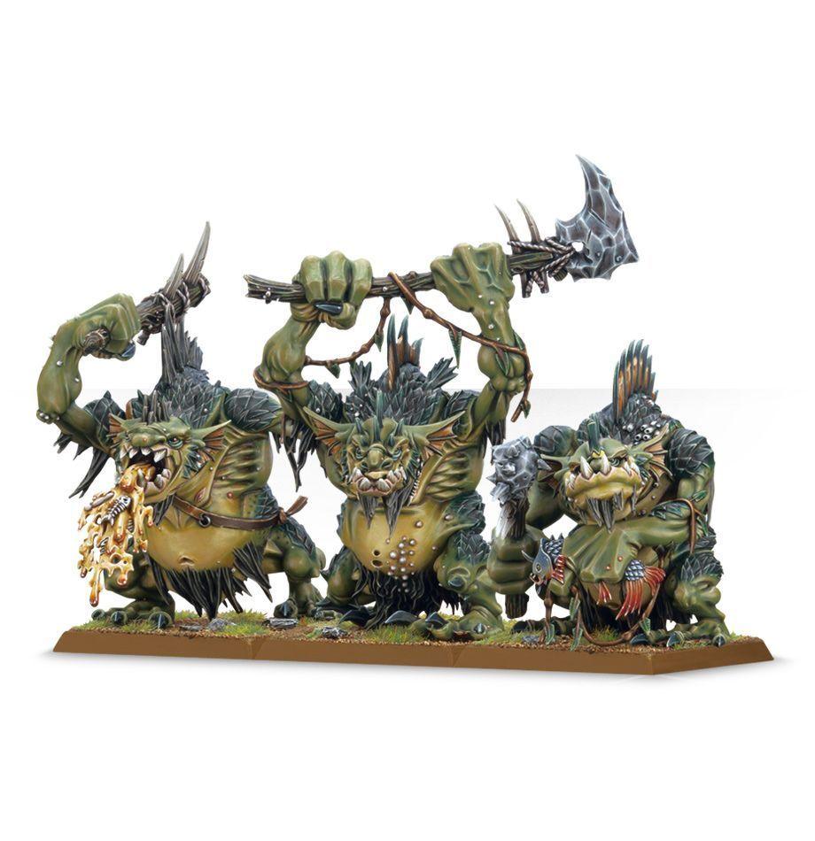 Warhammer Age of Sigmar Orks Fellwater Troggoths plastic new