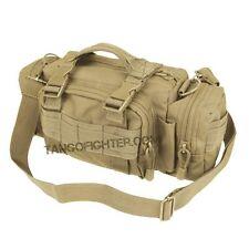 CONDOR #127 MOLLE Deployment Shoulder Bag Man Purse Butt Pack Tan