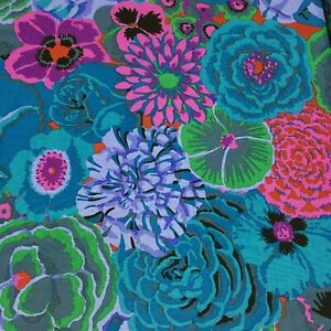 BLUE Cotton Quilting Fabrics 1//2 Yard Kaffe Fassett Watermelons