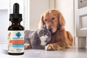 Bacon-Flavor-Hemp-Oil-Extract-250mg-30ml-for-Pets-DOGS-amp-CATS-FREE-SHIPPING-USA
