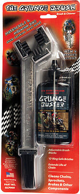 Chain Grunge Brush in Aluminum and Cleaning Solution Motorcycle ATV Bike NEW
