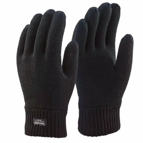 Men Thermal THINSULATE Hat and Gloves 3M Ski Warm Winter Hat and Gloves