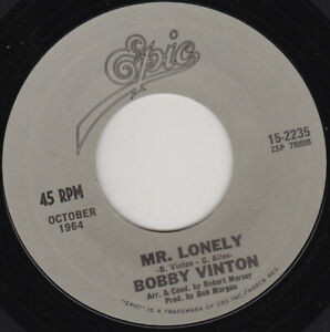 BOBBY-VINTON-Mr-Lonely-7-034-45