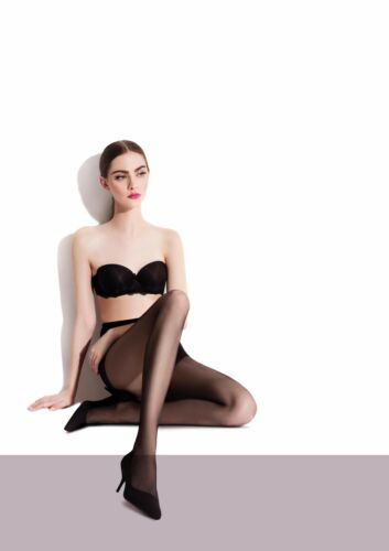 Fiore LILI Tights 20 Denier Sheer Tights Pantyhose Nylons Hosiery Plus Queen Sz
