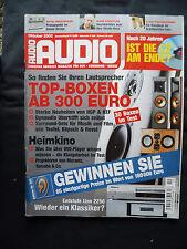 Audio 10/02 DYNAUDIO TWENTY FIVE,LINN 2250,REVEL PERFORMA F 30,C 30 S30.KEF Q 5
