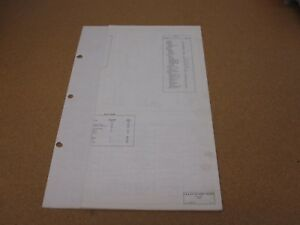 1972 ford f500 f600 f750 truck wiring diagram sheet schematics rh ebay co uk