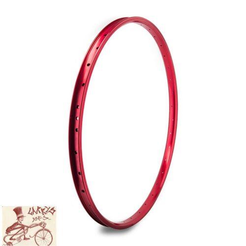 "SE RACING BIKES J24SG  36H---29/""  RED BICYCLE RIM"