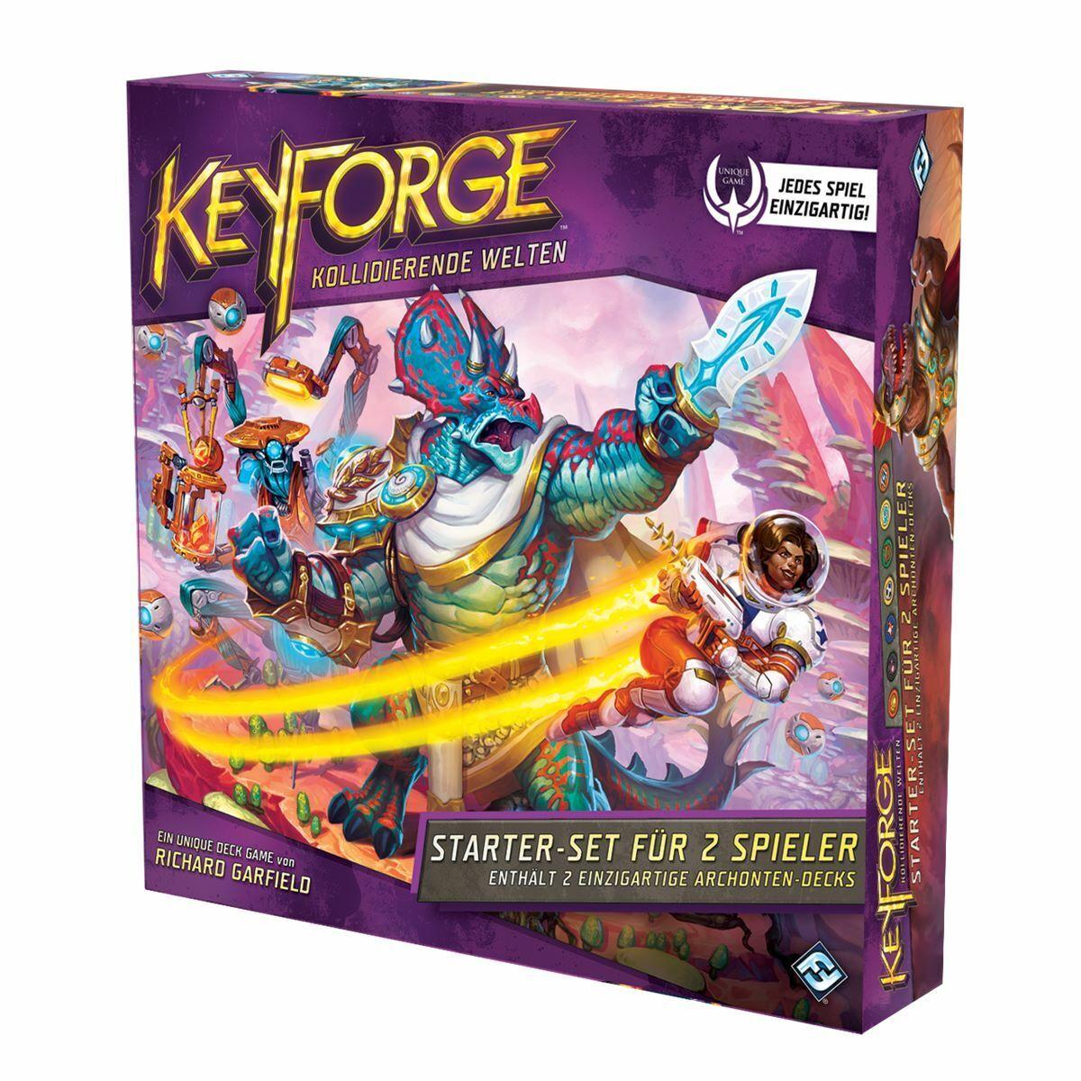 Kollidierende Welten Starter-Set Keyforge