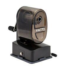 X Acto Bulldog Vacuum Pencil Sharpener Steel Cutter Clear Plastic 1 Count