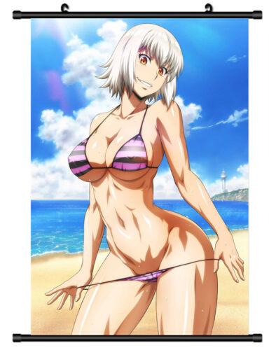 5614 Killing Bites Uzaki Hitomi Decor Poster Wall Scroll cosplay