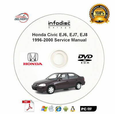 1998 1999 2000 Acura Integra Shop Service Repair Manual CD