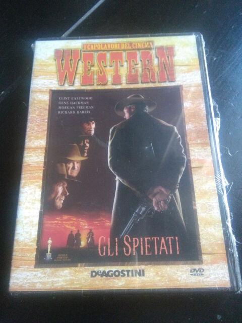 Gli spietati (1992) DVD SIGILLATO editoriale western Gene Hackman