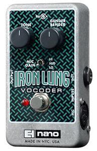 Electro-Harmonix-Iron-Lung-Vocoder-free-shipping