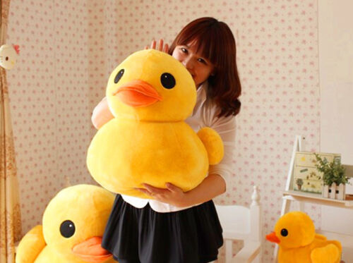 Giant Large Big Yellow Duck Stuffed Animal Pillow Plush Soft Toys Doll Gift-AH