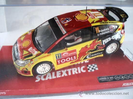 CITROEN C4 WRC SOLBERG 1 32 - Scalextric New rif. 6482 (Tecnitoys) Nuovo