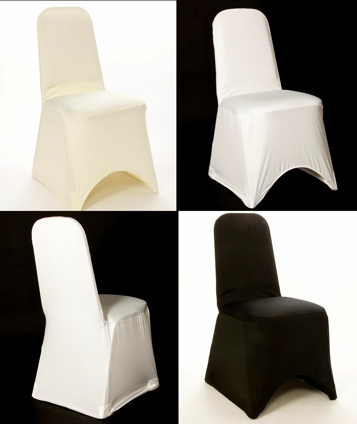 100 Chancellerie-Chaise Spandex Chair Covers BRAND NEW UK