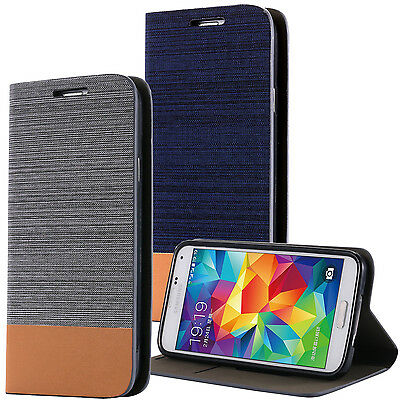 Samsung Galaxy S5 i9600 S5 Neo S5 Plus handy tasche case Brieftasche Wallet