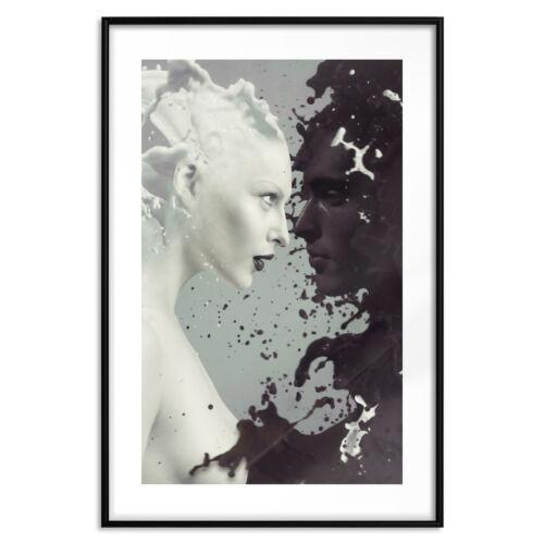 Poster mit Rahmen Bilder gerahmte Wandbild Kunstdruck Bilderrahmen h-B-0113-ao-a