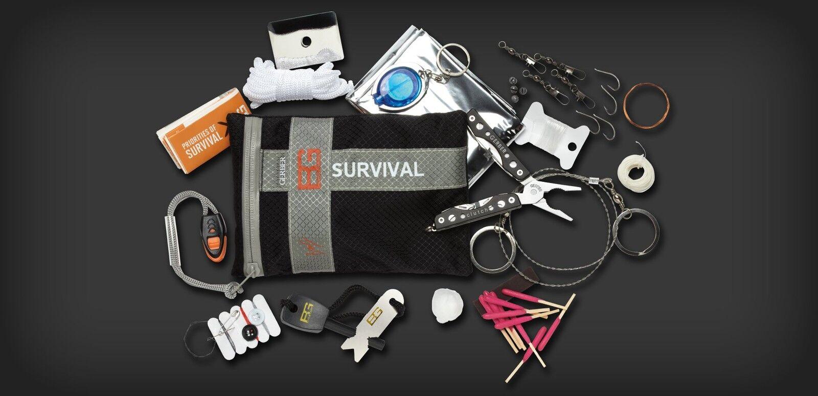 GERBER Bear Grylls Ultimate Kit 16 pz. Kit completo per la sopravvivenza