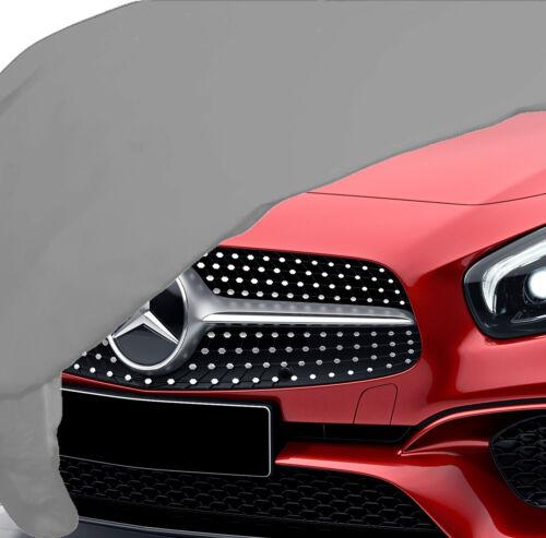 Mercedes sl r231 Facelift indoor auto toda cover garaje plata suave espejo nuevo