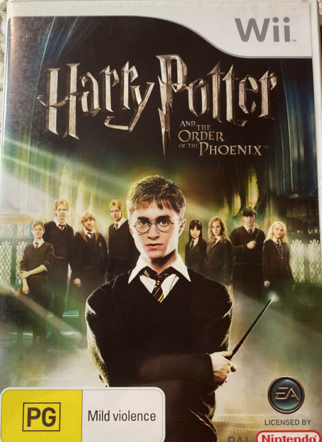 Harry Potter And The Order Of The Phoenix - Nintendo Wii Game Complete