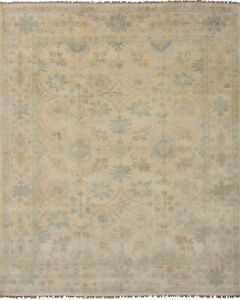 "Hand-knotted Carpet 9'1"" x 11'6"" Traditional Vintage Wool Rug...DISCOUNTED!"