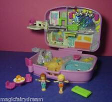 Polly Pocket Mini ♥ Holiday Fun ♥ Urlaubskoffer ♥ Disco ♥ 1996 ♥ 100% Komplett ♥