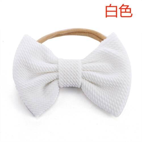 Baby Soft Cotton Bow Head Wrap Turban Top Knot Headband Newborn Girl Accessories