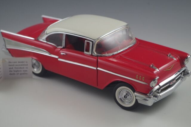 Franklin MINT 1957 Chevrolet Bel Air 1 24 Diecast | eBay