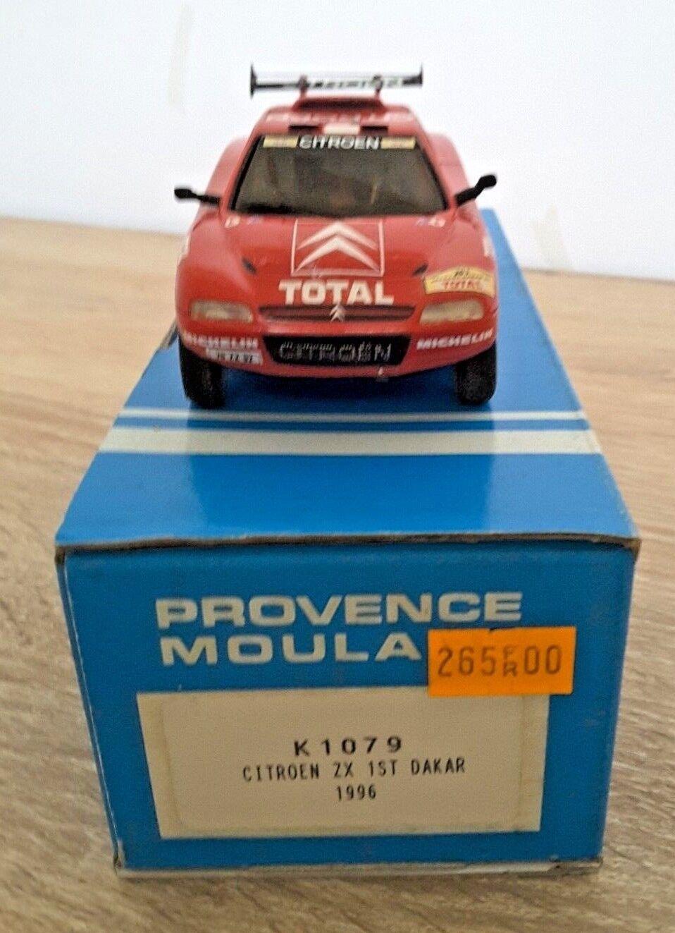 Provence Moulage Kit Monté 1 43 - Citroen ZX Winner Paris Dakar 1996 Lartigue