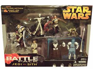 Sith 2005 Star Wars Battle Packs Pack Revenge of the Sith Jedi vs