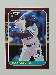 1987 Donruss Opening Day Bo Jackson #205 Baseball Rookie Card RC - KC Royals
