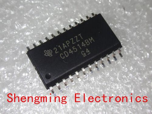 50PCS CD4514BM CD4514 SOP-24 IC original TI