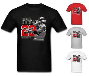 Nouveau-T-Shirt-Homme-Michael-air-legend-23-JORDAN-hommes-chemise-Tops-graphiques-Tumblr