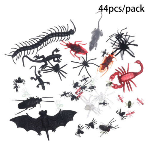 Bugs Scorpion Mouse Centipede Halloween Scary Props Simulation Reptile Insect