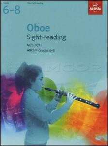 Prix Pas Cher Hautbois Vue Lecture Tests De 2018 Abrsm Grade 6-8 Sheet Music Book-afficher Le Titre D'origine DernièRe Mode