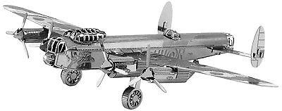 Di Animo Gentile Avro Lancaster Bomber: Metal Earth 3d Taglio Laser Kit Modellino Miniatura