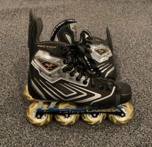 Custom-Inline-Hockey-Skates-CCM-Vector-6-0-Boots-LABEDA-Hum-er-Cateye-Chassis