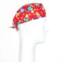 Colorful Children Theme Scrub Hat