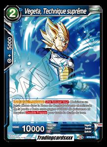 ♦Dragon Ball Super♦ Vegeta BT8-029 C Technique supreme VF