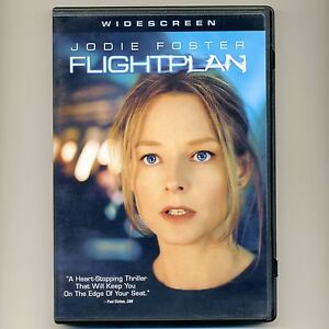 Flightplan 2005 Pg 13 Mystery Thriller Airplane Movie New Dvd Jodie Foster Ebay