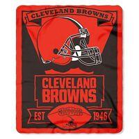 Cleveland Browns Fleece Throw Blanket