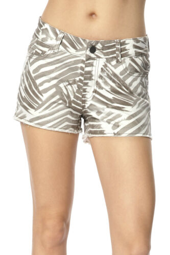 HappyHolly Cotton Rich Zebra Print Shorts