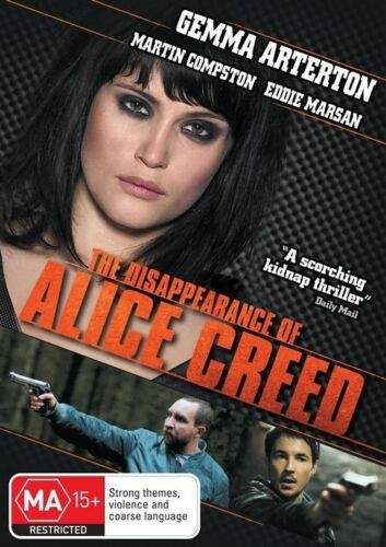 1 of 1 - The Disappearance Of Alice Creed (DVD, 2011)