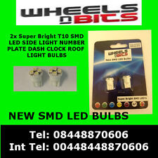 NEW T10 4 Led Smd 501 w5w Super Bright White Sidelights Dash  Number Plate Bulbs