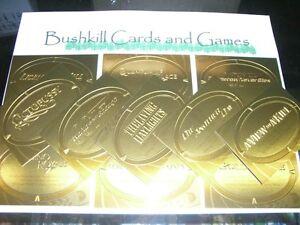 James-Bond-50th-Anniversary-Series-2-11-Card-Gold-Plaque-Embossed-Insert-Set