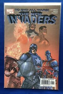 The-New-Invaders-1-10-2004-Marvel-NM-Direct-Edition-To-End-All-Wars