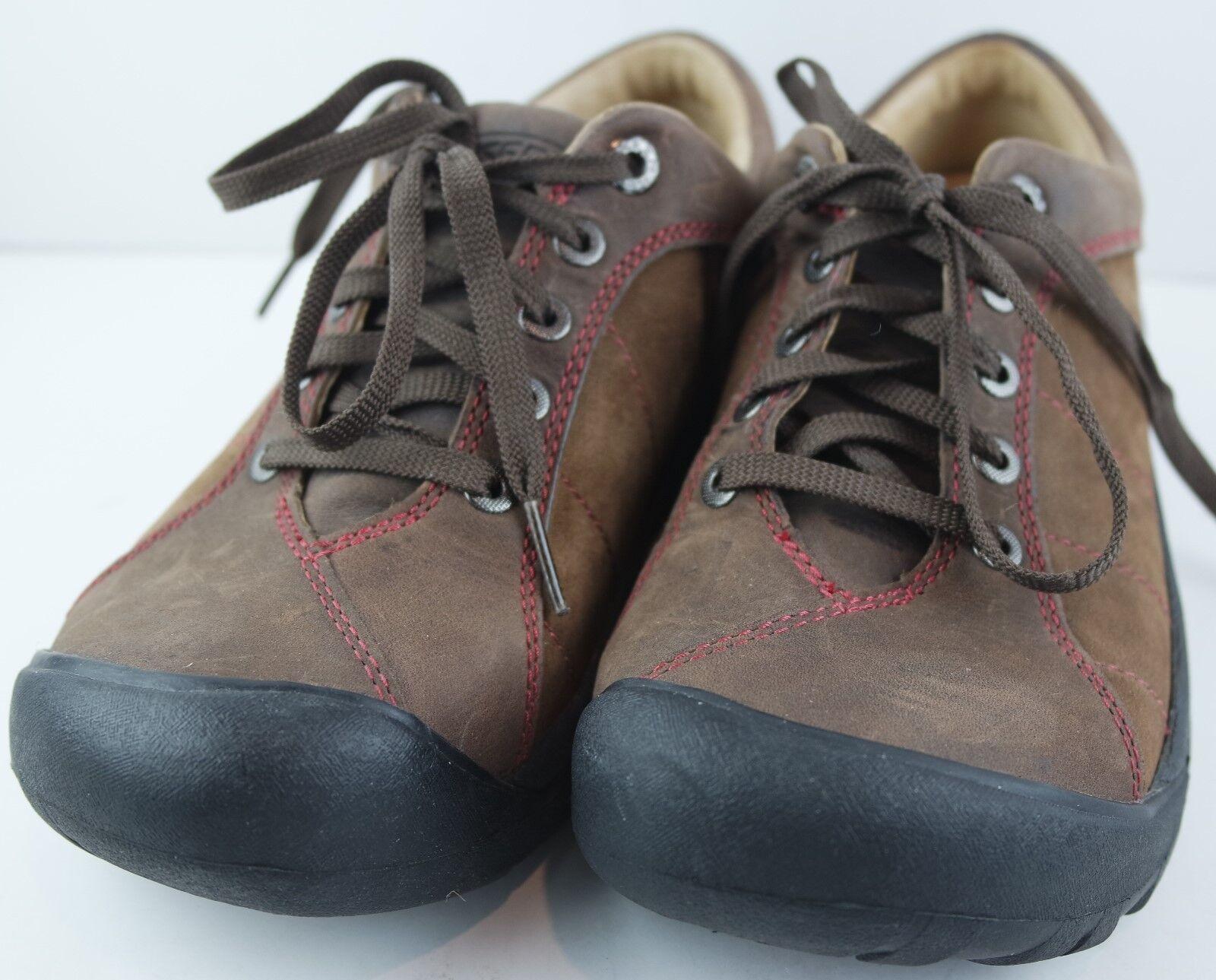 KEEN Women's Presidio Brown Hiking Walking Sneakers  Size 7.5 M  60% off