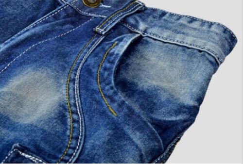 New blu passeggio Size tasca Cargo Mens 28 da pantaloncini Casual Fashion 40 jeans xqC70dFqw